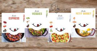 """""""La Cuisine sans BLA BLA"""" a fait 4 petits… Avec Anna Austruy aux Éditions Larousse"""