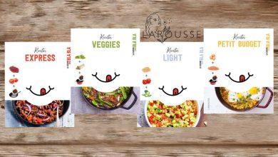 """Photo de """"La Cuisine sans BLA BLA"""" a fait 4 petits… Avec Anna Austruy aux Éditions Larousse"""