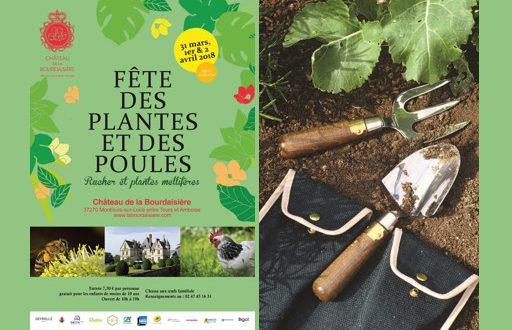 """24ème Édition de la """"Fête des Plantes et des Poules"""" du 31 mars au 2 avril 2018"""