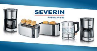 """Petit-déjeuner ou goûter équilibré avec la nouvelle gamme """"Inox-Brossé"""" SEVERIN"""