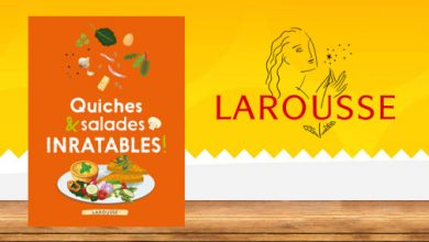 """Photo de """"Quiches & Salades Inratables"""" aux Éditions Larousse"""