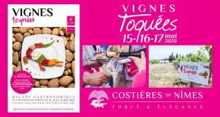 """12ème Édition des """"Vignes Toquées"""" le 15, 16 et 17 mai 2020"""