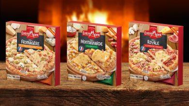 Photo de Entremont lance ses pizzas surgelées !