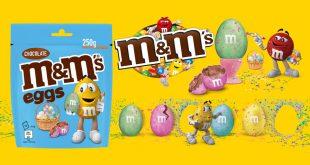 "M&M's® Eggs les ""Petits Œufs"" Inédits de Pâques !"