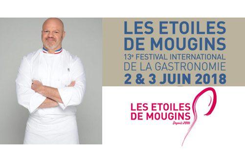 13ème Édition des Étoiles de Mougins – Festival International de la Gastronomie les 2 et 3 juin 2018