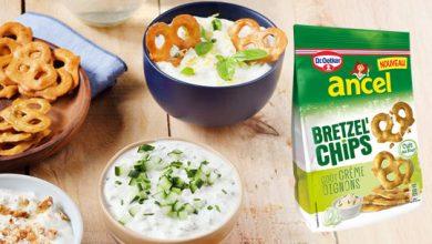 """Photo de Nouveauté apéritive """"Bretzel'Chips"""" saveur Crème & Oignons ancel de Dr. Oetker !"""