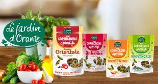 """Le Jardin d'Orante développe cinq nouvelles recettes de """"Cornichons Apéritifs"""""""