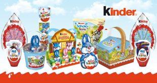Pour Pâques, Kinder® sème des surprises pour un jardin gourmand !