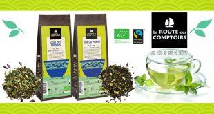 """La Route des Comptoirs innove avec """"2 nouvelles recettes"""" de thés verts"""