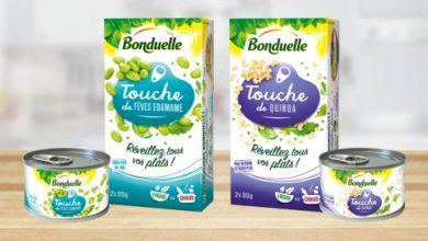 Photo de Bonduelle agrandit sa gamme « Touche de » avec 2 nouvelles références