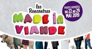 """5ème Édition des """"Rencontres MADE in VIANDE"""" du 22 au 29 mai 2019"""