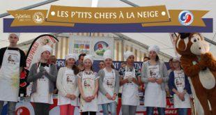 """5ème Édition du concours Inédit de Ski-Pâtisserie """"Les P'tits Chefs à la Neige®"""" du 14 au 20 avril 2018"""