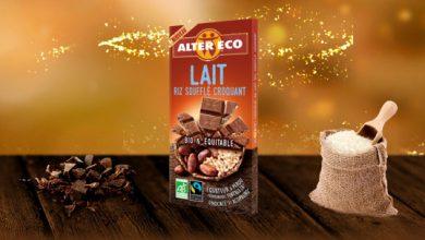 """Photo de """"Nouveauté Chocolat"""" du croquant pour les 20 ans d'Alter Eco®"""