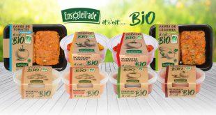 Ensoleil'ade® enchante les légumes avec sa nouvelle gamme «Et c'est… Bio»