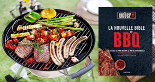 """""""La Nouvelle Bible du BBQ"""" par Jamie Purviance aux Éditions Larousse"""