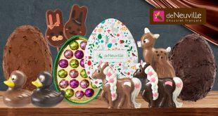 """""""Clouez-leur le bec"""" à Pâques avec les Chocolats français de Neuville"""