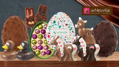 """Photo de """"Clouez-leur le bec"""" à Pâques avec les Chocolats français de Neuville"""