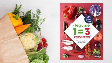 """Photo de """"1 légume = 3 recettes"""" de Céline Mingam aux Éditions ULMER"""