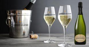 """Charles Legend présente sa quatrième cuvée, un Champagne """"Brut Nature"""" 100% Pinot Noir"""