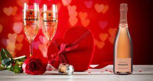 """Champagne Mandois """"Rosé Grande Réserve"""", tout le fruit au cœur de la bulle"""