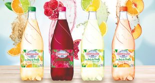 Cristaline « Fruit & Pétille », 4 recettes originales & gourmandes