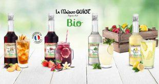 """La Maison GUIOT lance """"4 Nouvelles Saveurs"""" dans sa gamme de Sirops Bio"""
