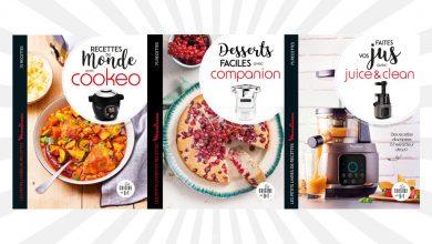 """Photo de Les petits livres de recettes """"Moulinex®"""" aux Éditions Dessain et Tolra"""