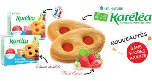 """Craquez pour les """"Lunettes fraise et chocolat"""" sans sucres ajoutés Karéléa"""