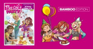 """Mes Cop's Party"", un album hybride en BD chez Bamboo Édition"