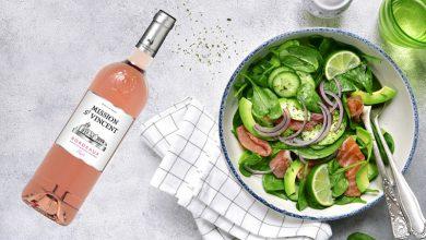 """Photo de Producta Vignobles présente """"Mission St Vincent"""" rosé 2019"""