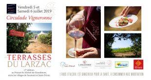 "17ème ""Circulade Vigneronne"" en Terrasses du Larzac les 5 & 6 juillet 2019"