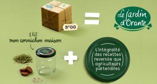 """Le Jardin d'Orante renouvelle l'opération """"Mon Cornichon Maison"""""""