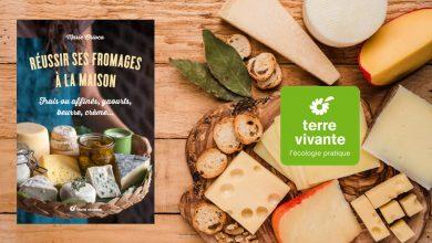 """Photo de """"Réussir ses fromages à la maison"""" de Marie Chioca aux Éditions Terre vivante"""