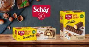 """Schär met les bouchées doubles dans les gourmandises avec les """"Tempties et le Melto"""" !"""