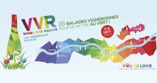 """17ème Édition de """"Vignes, Vins, Randos"""" les 5 et 6 septembre 2020"""