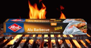 "Albal® lance ""Alu Barbecue"" : un papier aluminium spécial grillades ultra-résistant"