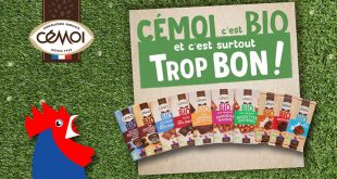 "CÉMOI lance sa gamme de tablettes de ""Chocolats Bio"" !"