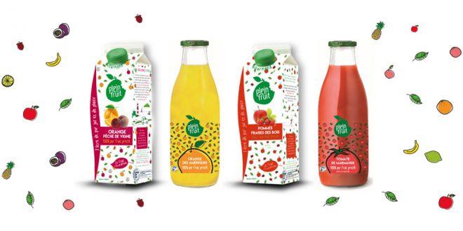 """Plein Fruit des """"Purs Jus"""" aux saveurs estivales en toutes saisons !"""