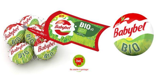 "Babybel® se met au vert avec ""Mini Babybel® Bio"""