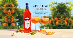 """""""Cinzano Aperitivo"""" ou l'apéritif aux extraits naturels d'agrumes d'Italie pour un Spritz réussi"""