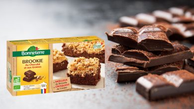 "Photo de Bonneterre lance le ""BROOKIE"" au chocolat et aux graines !"