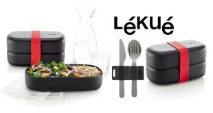 "La ""LunchBox To Go"" Black Limited Edition de Lékué"