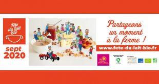 """""""Fête du Lait Bio"""". tous les week-ends du 30 août au 4 octobre 2020"""