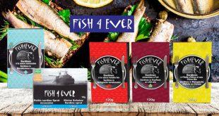 """De """"Nouvelles recettes"""" dans la gamme de sardines FISH4EVER"""