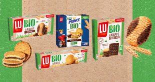 """LU BIO – La nouvelle gamme de """"Biscuits Bio"""" et délicieux"""