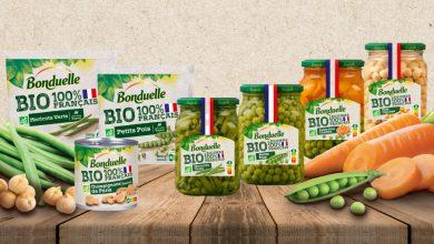 """Photo de Bonduelle BIO légumes """"100% Français"""""""