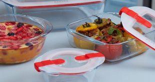 """La gamme """"Cook&Heat"""", spéciale micro-ondes de Pyrex®"""