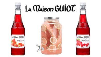 Photo de La Maison GUIOT passe à l'heure d'été et vous fait découvrir son sirop de pastèque et framboise !