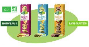 """""""Les Envoûtants"""" Valpibio, de fins biscuits sablés délicieusement croustillants"""