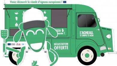 Photo de Le Food Truck de L'Agneau arrive près de chez vous les mercredis de septembre et octobre 2017 !